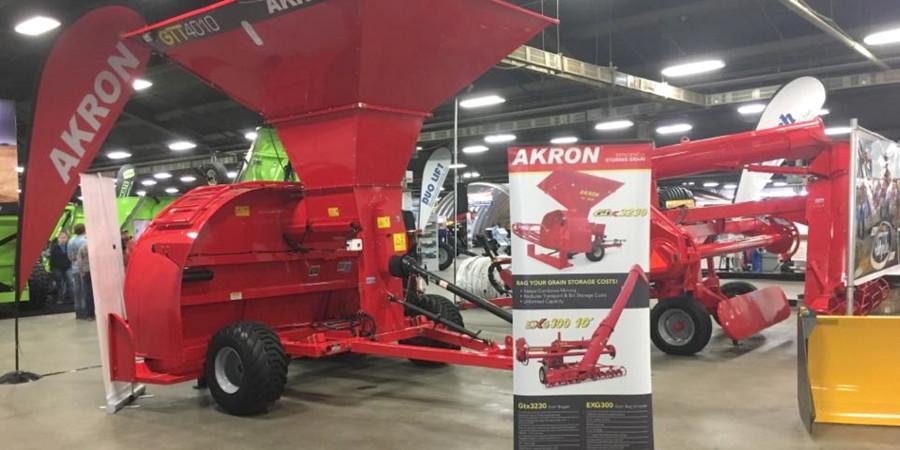 Akron renovó las embolsadoras de exportación